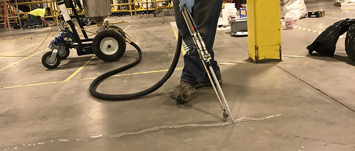 Concrete Joint Filling in CT | Heavy Duty Floors
